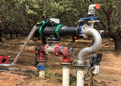 Modified irrigation pump