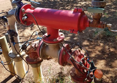 older Irrigation pump in need of repair