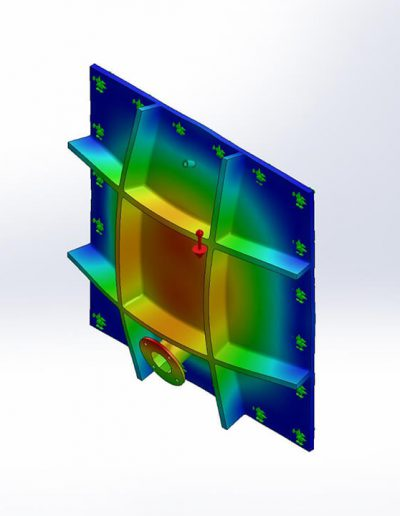 CAD render - Displacement analysis