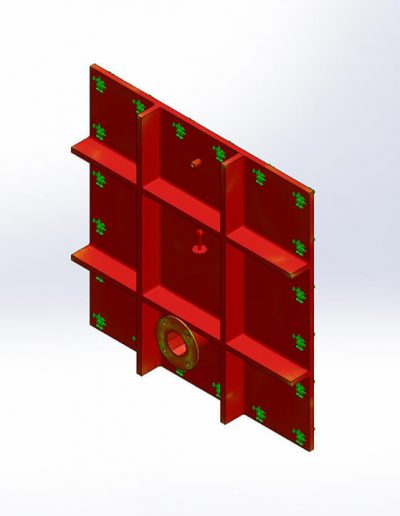 CAD render - Factor of Safety Analysis